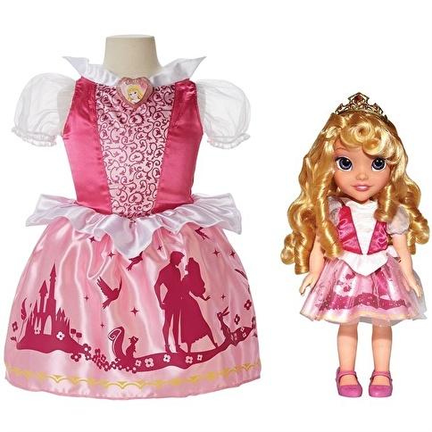 Disney Disney Prenses Uyuyan Güzel Kostümlü Ve Bebek Seti Renkli